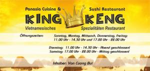 King Keng - Türaufkleber