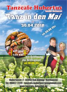 Tanzcafe Hubertus - Flyer